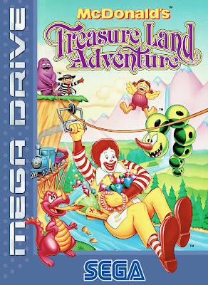 Rom de McDonald's Treasure Land Adventure - Mega Drive - PT-BR