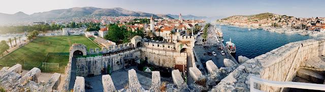Croatian Seaside Towns of Split and Trogir