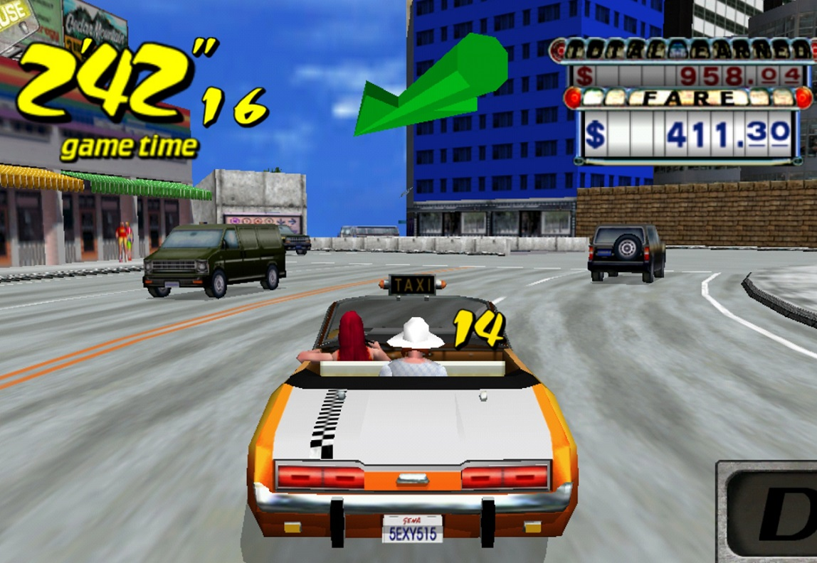free download crazy taxi game for pc full version