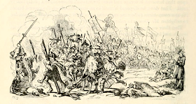 Illustration from Barnaby Rudge by Charles Dickens (1841)   which was based on the Gordon Riots
