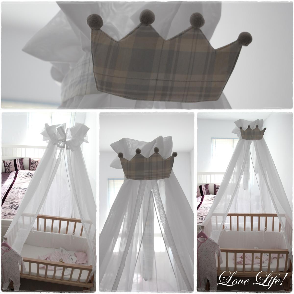 love life babyzimmer der betthimmel. Black Bedroom Furniture Sets. Home Design Ideas
