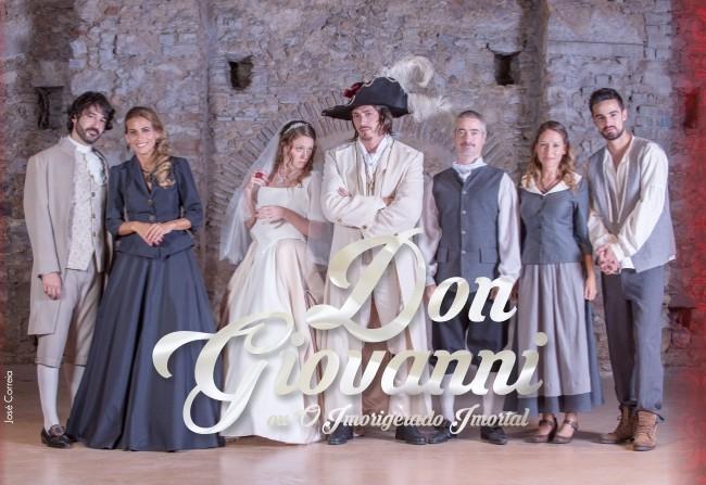 """Sobre a peça """"Don Giovanni ou O Imorigerado Imortal"""""""