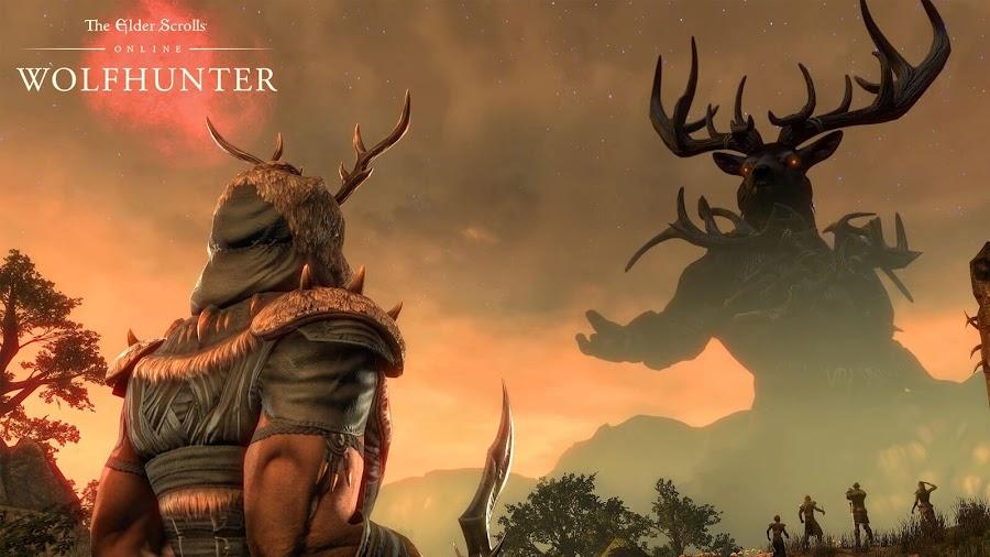 elder scrolls online wolfhunter dlc lord hircine