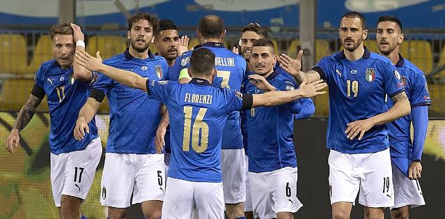 Italy vs Northern Ireland Highlights