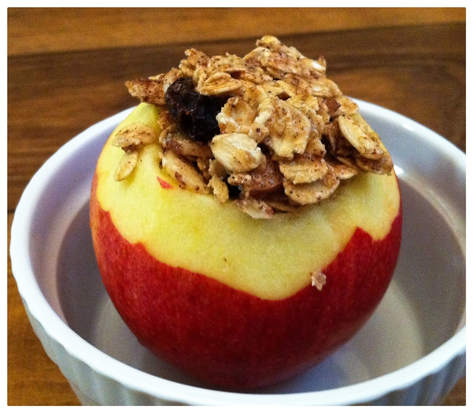 Courting Contentment: Baked Stuffed Apples