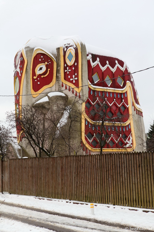 дом слон на новорязанском шоссе фото