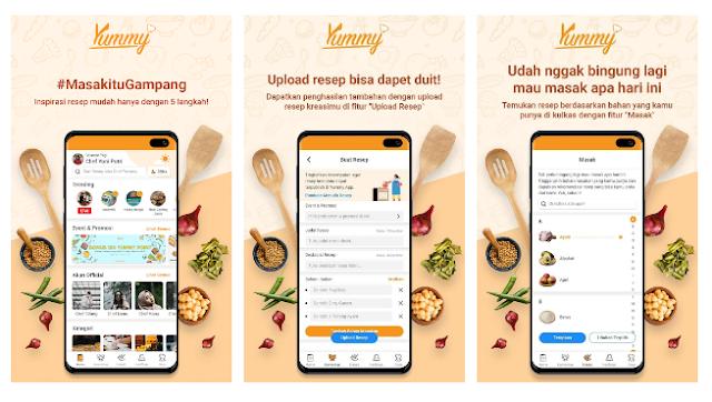 Masak Menjadi Lebih Mudah Dengan Yummy App