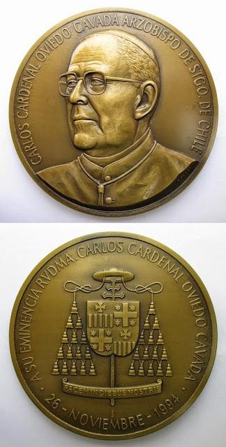 Cardenal Carlos Oviedo Cavada