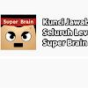 Kunci Jawaban Super Brain Terlengkap (200 Level+)
