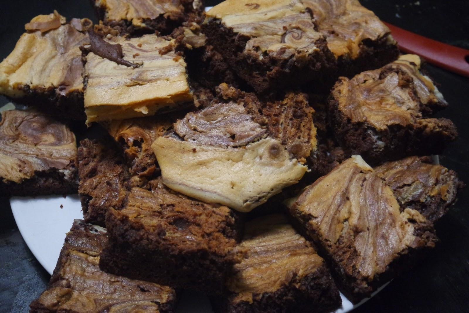 Tuplasuklaa browniet