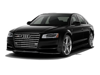 Audi S8 Exterior: Metallic Paint, Spare Wheel (Aluminum)