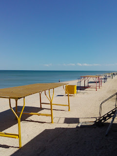 Арабатская стрелка. Пляжи