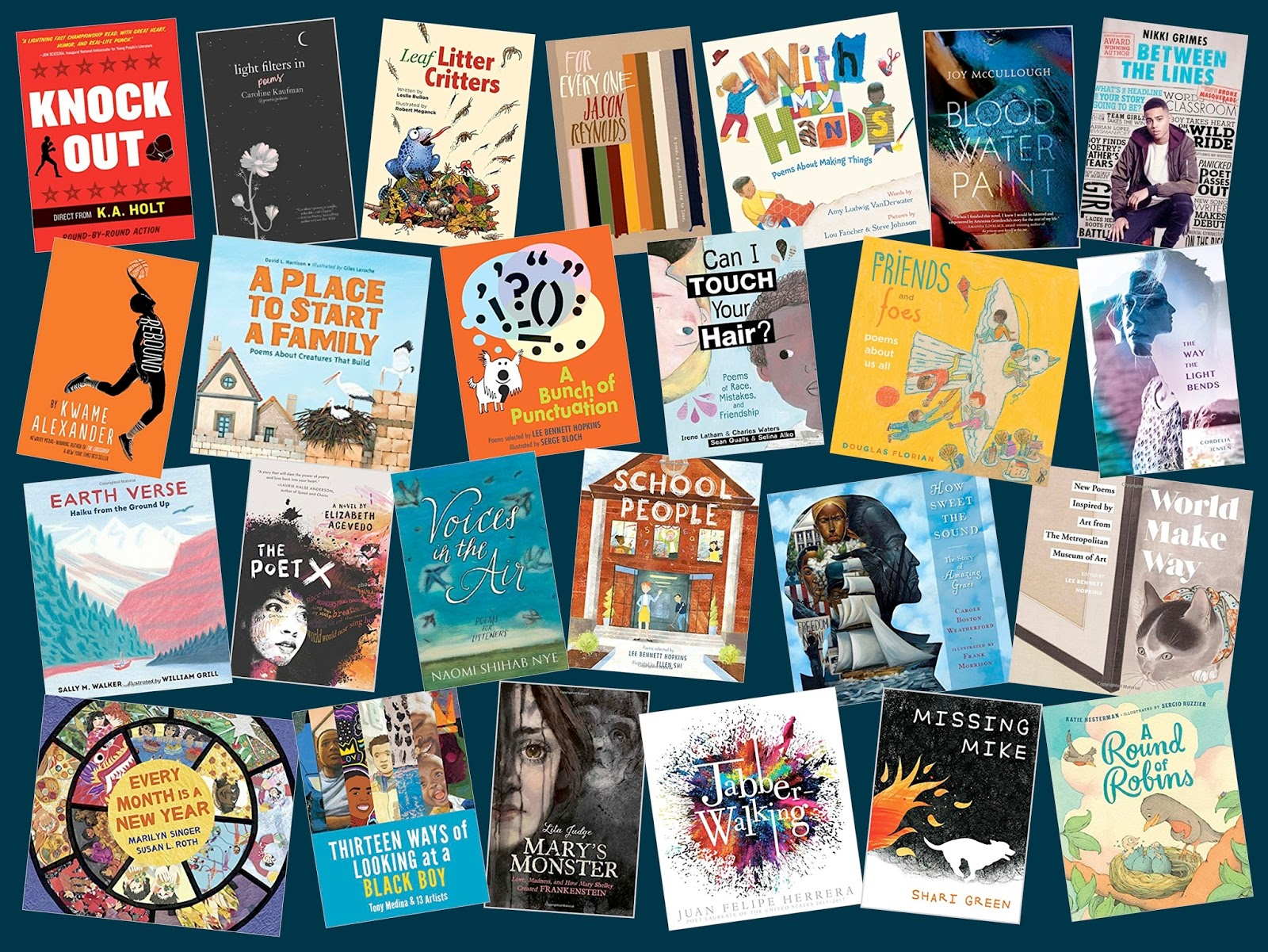 Poetry For Children Sneak Peek List For 2018