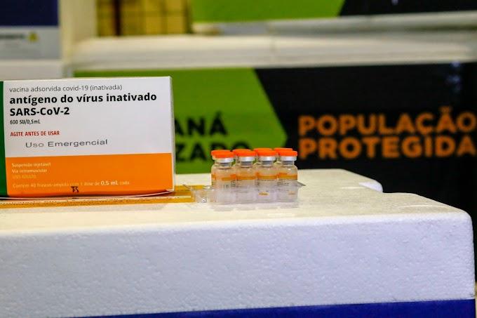Paraná distribuiu 99,92% das vacinas recebidas pelo Ministério da Saúde