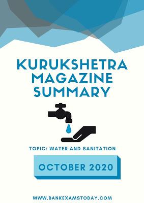 Kurukshetra Magazine Summary: October 2020