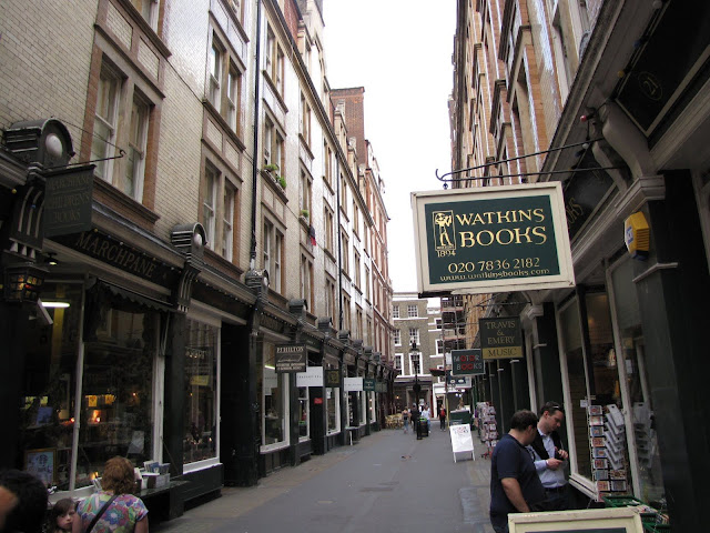 Charing Cross Road Harry Potter Places to visit