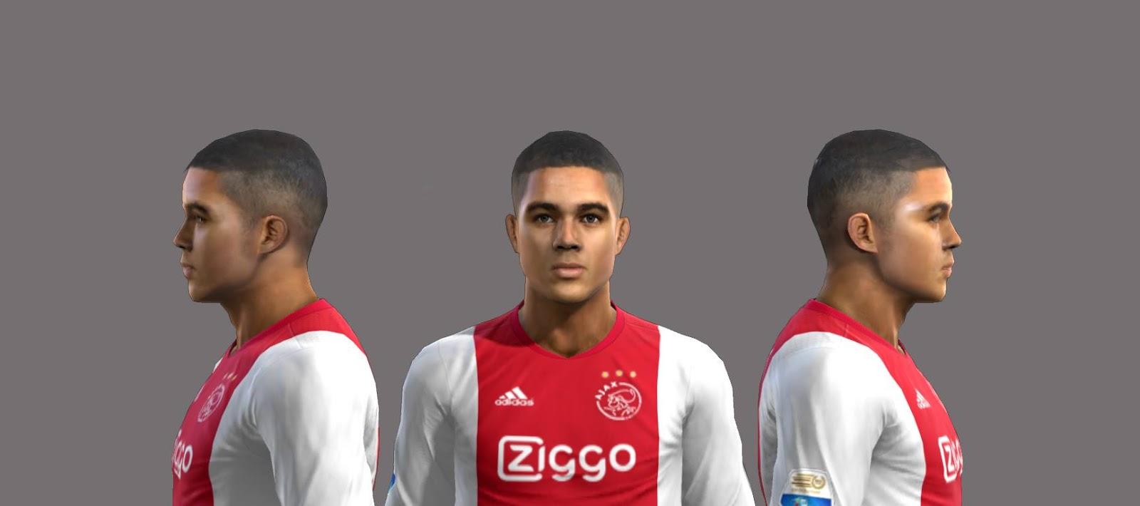 PES 2013 Justin Kluivert (Ajax) Face by EmreT