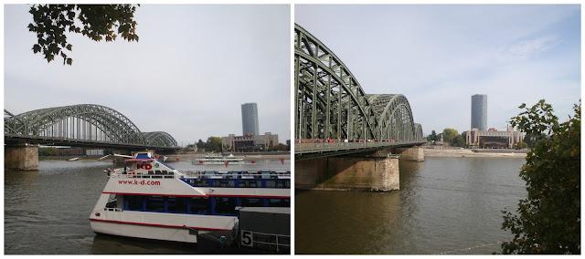 Alemanha: as pontes mais fantásticas! Hohenzollernbrücke, Colônia