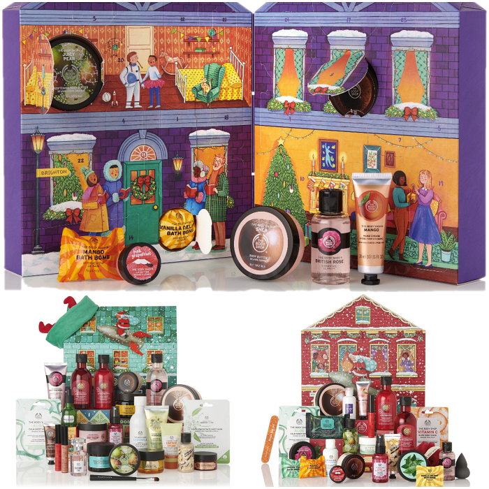 The Body Shop Advent Calendar 2019 spoilers and contents