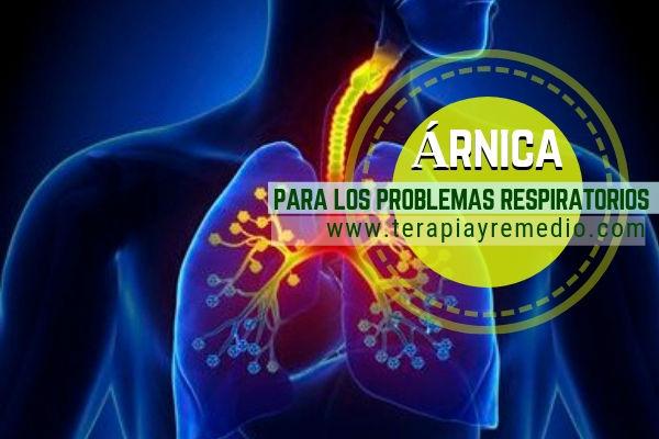 Remedio respiratorio con árnica como la tos son conocidos desde tiempos inmemoriables
