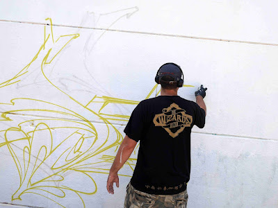 Somey graffiti artist