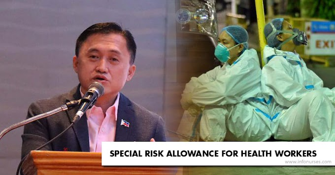 Bong Go pushes for fixed monthly SRA of health workers