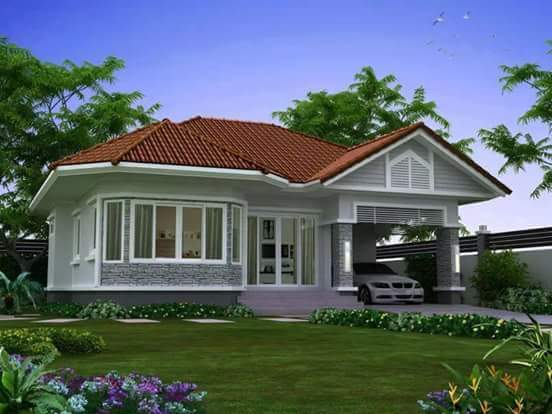20 small beautiful bungalow house design ideas ideal for for Bungalow house floor plan philippines