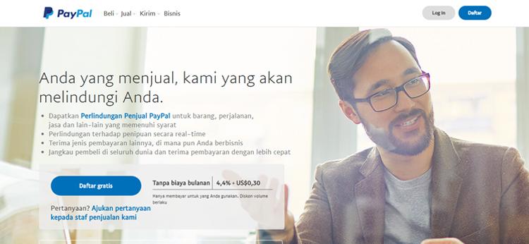 Tombol Donasi PayPal Terbaru