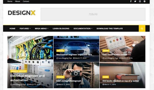 blogger templates, designx responsive blogger template, best 10 responsive blogger templates, blogger templates free download, how to download blogger template, best free template for blogger 2020