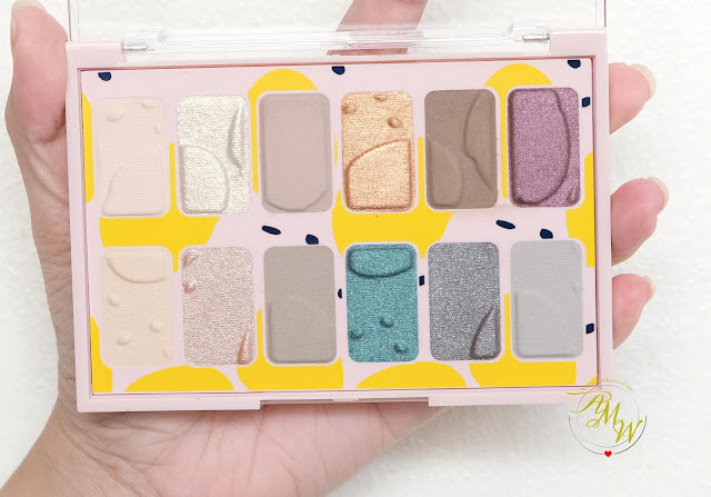 a photo of The Body Shpo Paint In Color Eyeshadow Palette Review and Look by Nikki Tiu of askmewhats.com