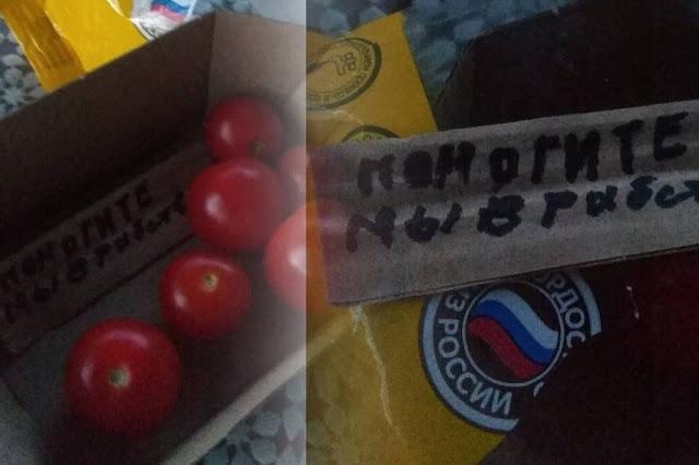 """""""Помогите, мы в рабстве"""" - таинственную записку обнаружили в упаковке томатов-черри в Новосибирске"""