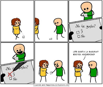 imagenes copadas Cyanide and Happiness