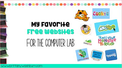 My Favorite Free Websites for the Computer Lab