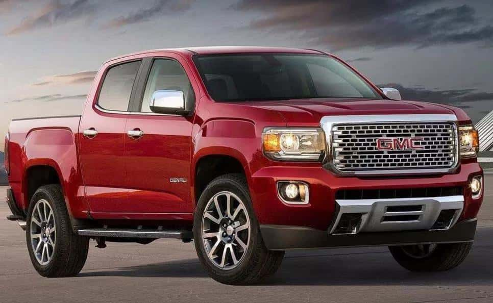 2019 GMC Canyon Changes