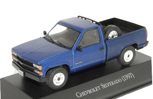Chevrolet Silverado 1997 1:43, autos inolvidables argentinos 80 90