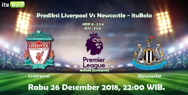 Prediksi Liverpool Vs Newcastle - ituBola
