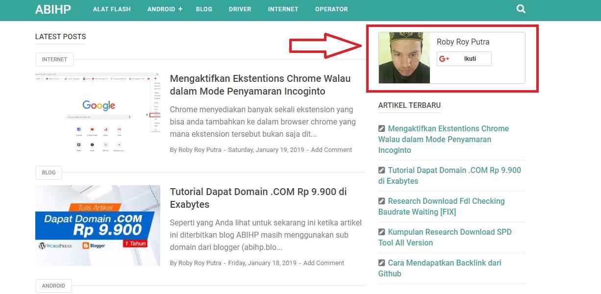 Google+ Badge AMP