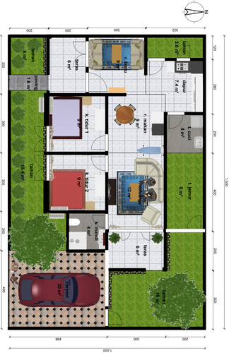 small 2 bedroom house plans and designs