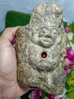 batu kandang khodam merah delima, mustika merah delima asli, arca, patung, fosil antik, arca budha, khodam ampuh, penglarisan usaha