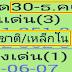 เลขเด็ด ชาติ/เหล็กใน 3ตัวบน 2ตัวล่าง งวด 30/12/60