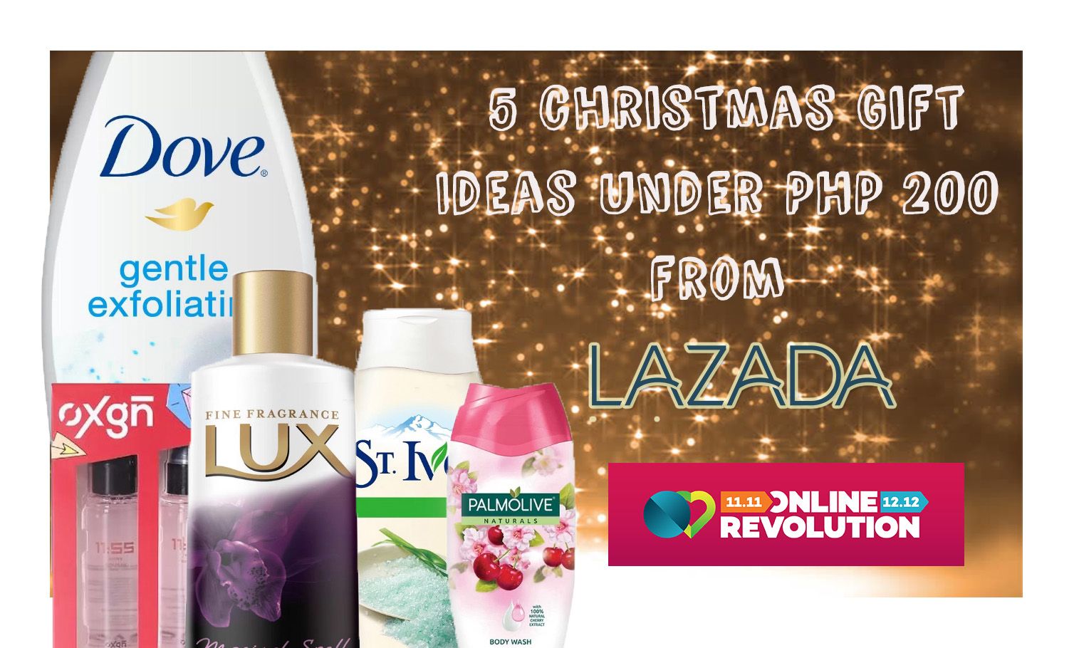 5 Christmas Gift ideas under PHP200 from Lazada   ♥True , False, or ...
