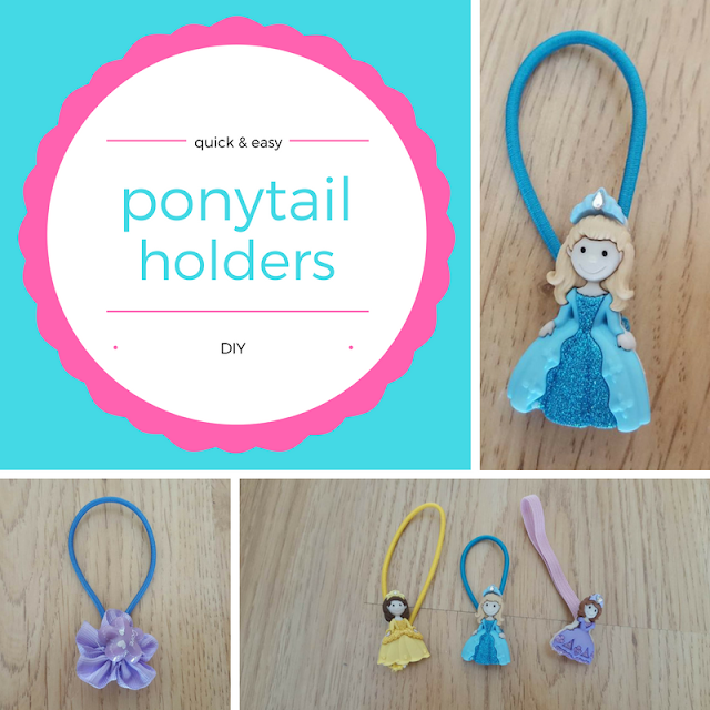 Quick & easy DIY ponytail holders