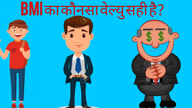 BMI का फुल फॉर्म क्या है जानिए हिन्दी में। BMI FULL FORM IN HINDI