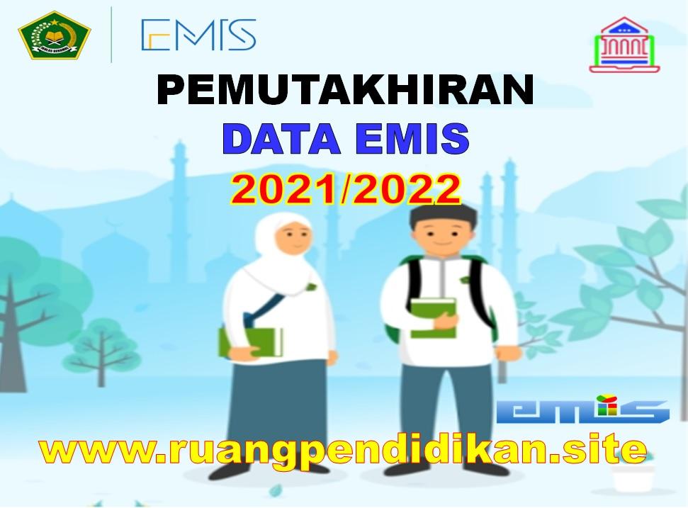 Pemutakhiran Data EMIS Madrasah