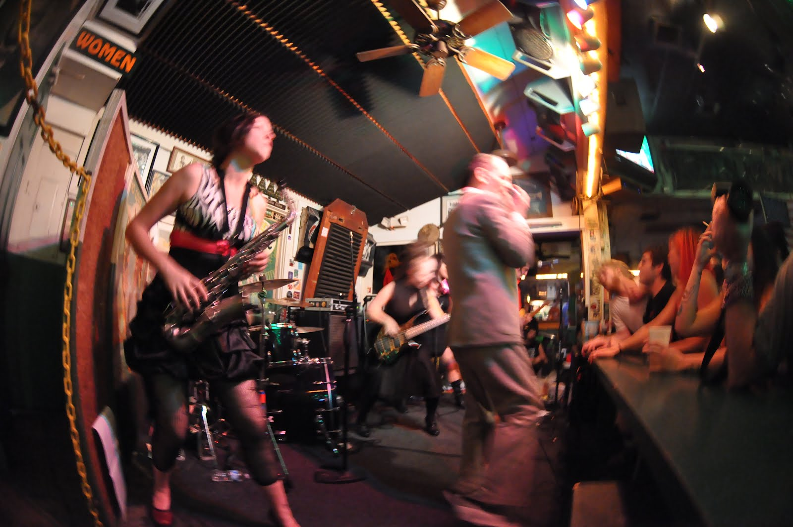 World/Inferno Friendship Society Brings Cabaret Punk to The Parrot