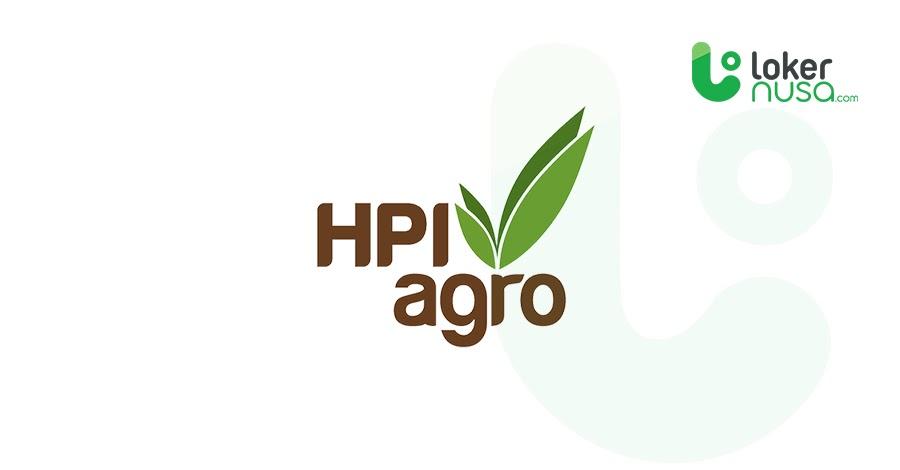 Lowongan Kerja Terbaru HPI Agro