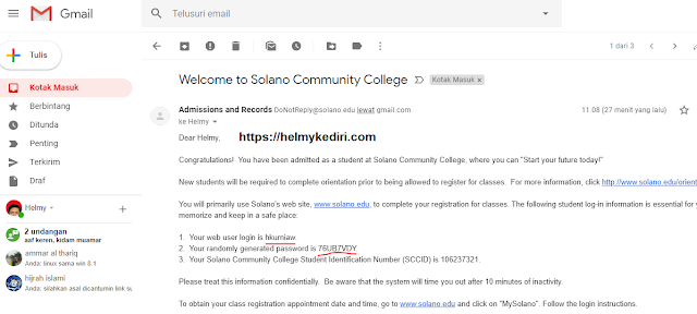 email student uny