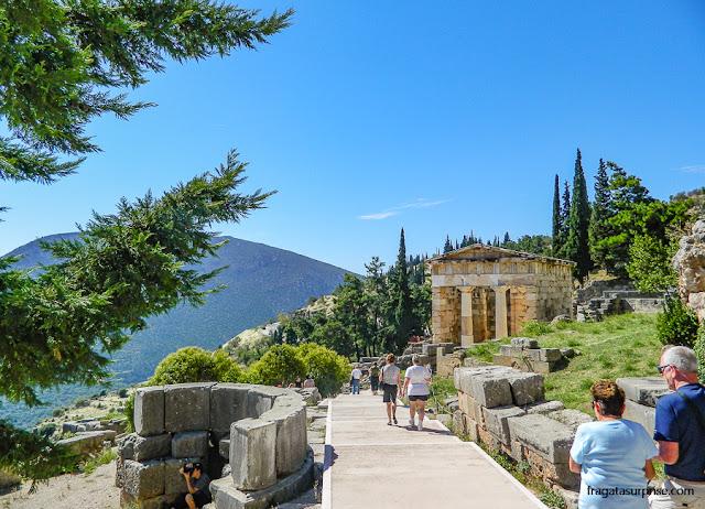 Caminho Sagrado de Delfos, Grécia