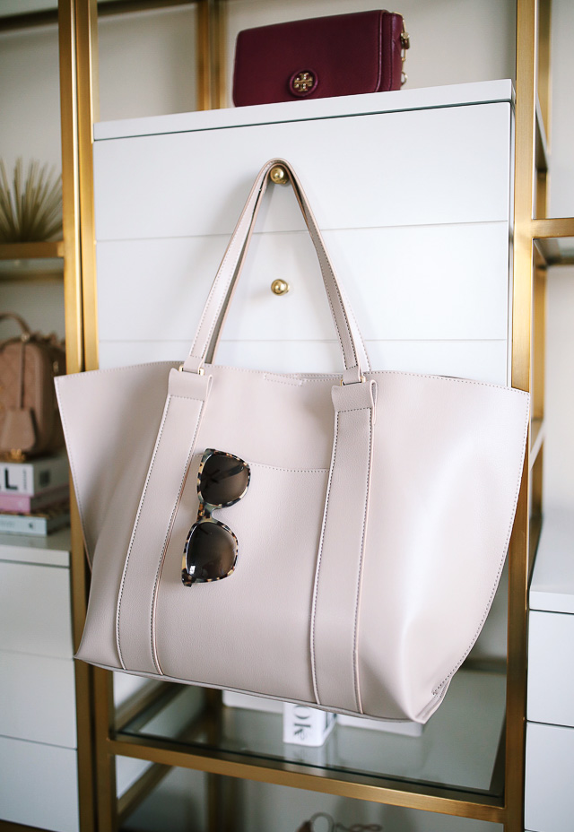 "Sole Society  ""Ravin"" tote in tan shore from the #NSale"