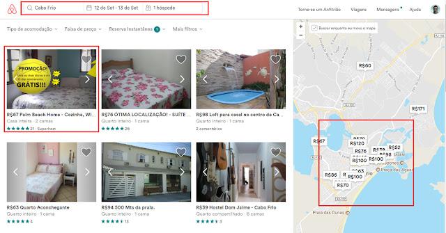 se hospedando pelo airbnb
